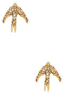 Kate Spade NEW Kate Spade Cold Comforts Bird Gold Studs Earrings - 12k Gold
