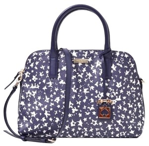 Kate Spade Satchel in Navy and White