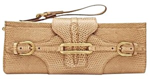 Jimmy Choo Wristlet in tan