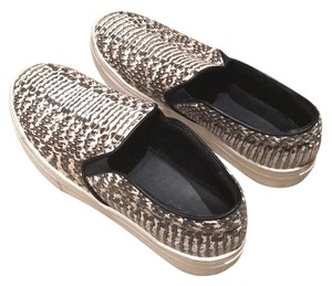 Céline Grey and white snake skin Athletic