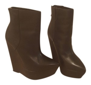 BCBGMAXAZRIA Black leather Boots