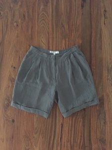 Generra Silk Sleek Minimal Shorts Gray