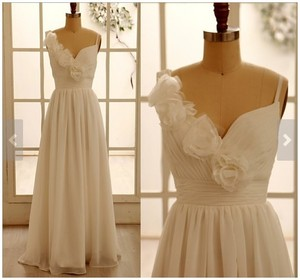 Ivory Chiffon Wedding Dress Wedding Dress