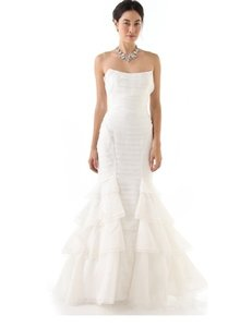 Theia Raw Edge Mermaid Wedding Dress