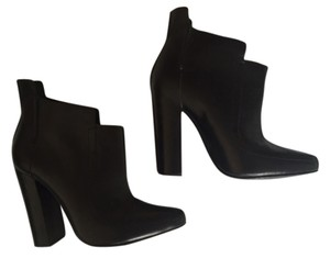 Alexander Wang Designer Leather Luxury Black Boots