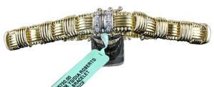 Roberto Coin Roberto Coin Appassionata 1 Row Gold and Diamond Bracelet