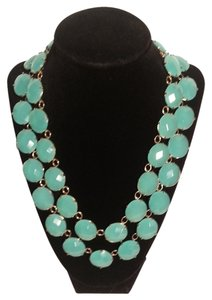 Neiman Marcus SALE!!! Aqua and gold two strand necklace