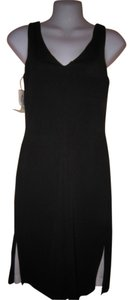 Jodi Kristopher short dress Black/White on Tradesy