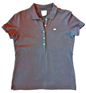 Lacoste Button Down Shirt Brown