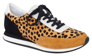 Loeffler Randall Black, white, tan Athletic