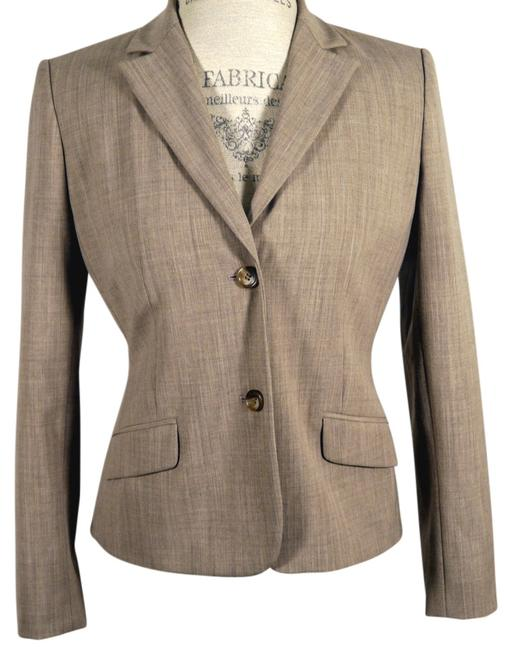 Item - Wheat Fully Lined Blazer 6p Shorts Suit Size Petite 6 (S)