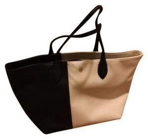 Ann Taylor Tote in Black And White