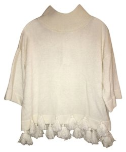 French Connection Tassels Wool Sweater