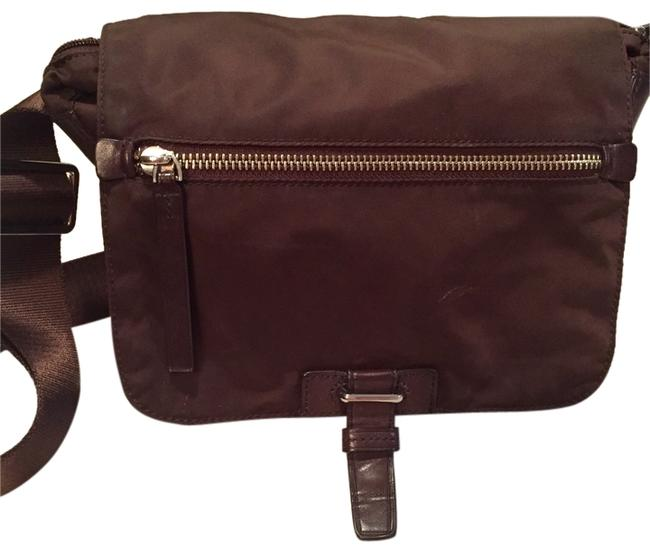 Item - Messenger Multiple Nwot with Compartments Brown Nylon Cross Body Bag