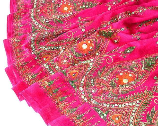 IK Collections Maxi Skirt Pink Image 4