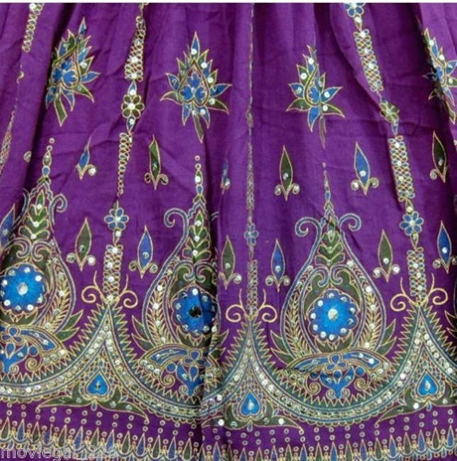 IK Collections Skirt Purple Image 3