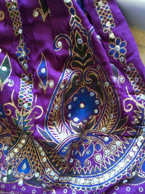 IK Collections Skirt Purple Image 5