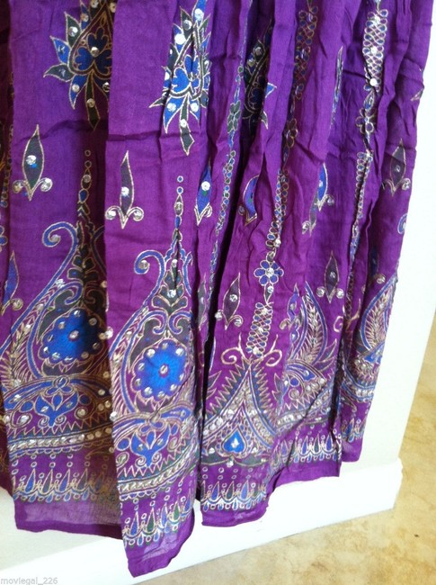 IK Collections Skirt Purple Image 6