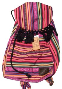 Billabong Multi Striped Beach Backpack