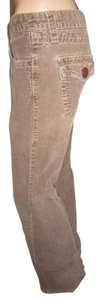 Forever 21 Corduroy Large Back Pockets Comfortable Boot Cut Pants LightBrown