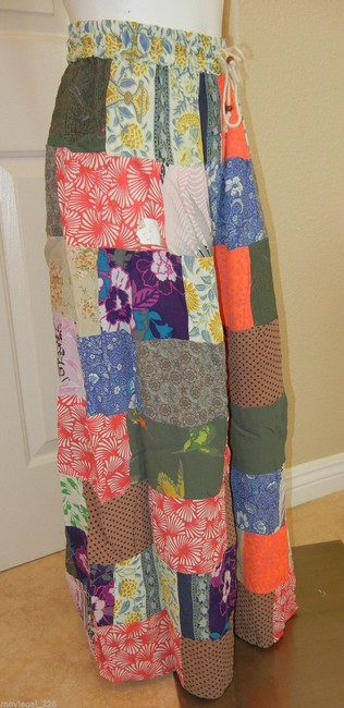 Other India Hippie Broomstick Maxi Skirt Multicolor Image 3