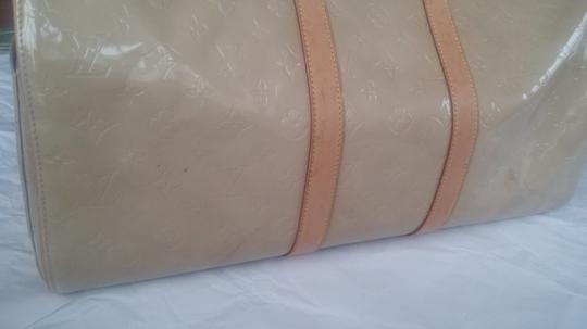 Louis Vuitton Vernis Monogram beige Travel Bag