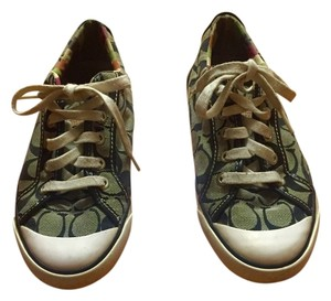 Coach Sneakers Black and Gray Athletic