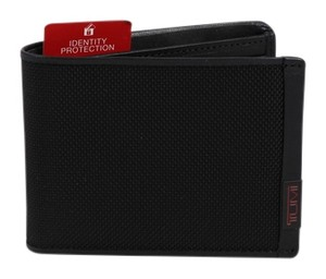 Tumi * Tumi Alpha Double Billfold Black Wallet