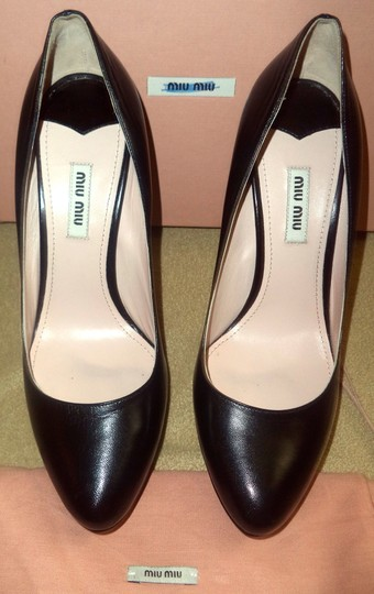 Miu Miu Worn Inside Only Box & Bags Black Pumps Image 4