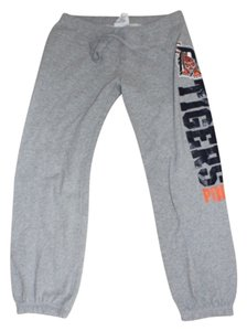 PINK Victorias Secret PINK Detroit Tigers MLB Grey Sweatpants