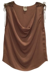 Haute Hippie Top Camel.
