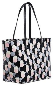 Kate Spade Tote in Black Pink Grey