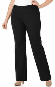 Torrid Dress 16 Trouser Pants Black