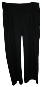 Gap 16 Wide Leg Dress Trouser Pants Dark Wool