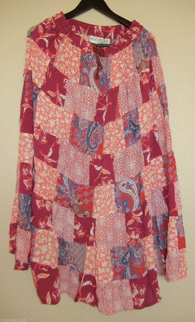 Other Boho Broomstick Long Gypsy India Maxi Skirt Red Image 4