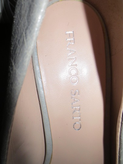 Franco Sarto Gray Wedges