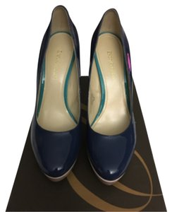 Enzo Angiolini Baby pink , turquoise and light navy blue Pumps