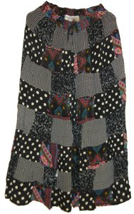 Other Bohemian Broomstick India Hippie Gypsy Maxi Skirt Black