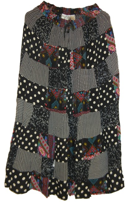 Preload https://img-static.tradesy.com/item/1182167/black-bohemian-polka-dot-panel-patchwork-rayon-broomstick-in-india-large-skirt-size-12-l-32-33-0-0-650-650.jpg