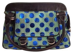 Marc Jacobs Tote in Green And Navy
