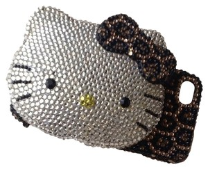 Hello Kitty IPhone4/4S case made By Swarovski Stones