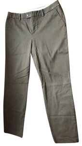 Uniqlo Ankle Trouser Pants Olive