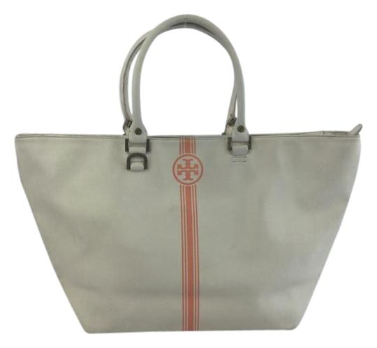 Tory Burch Roslyn Tote in Cream