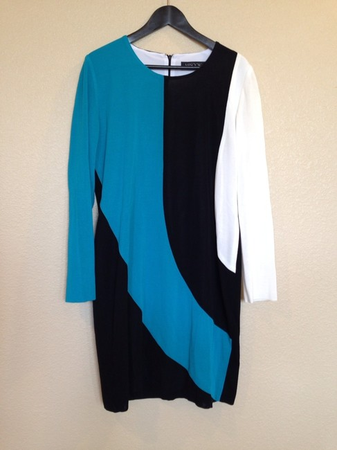 Misook New With Tags Mondrian Xl Dress Image 1