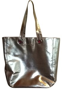 Clinique Tote in silver