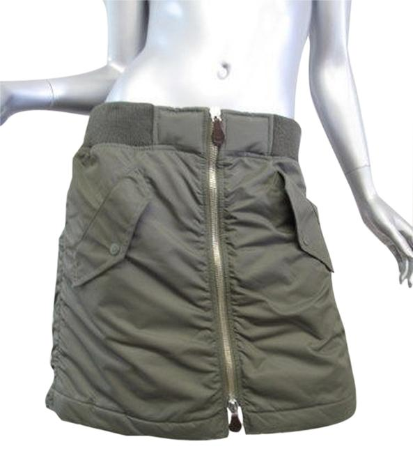 Item - Army Green Bomber Skirt Size 4 (S, 27)