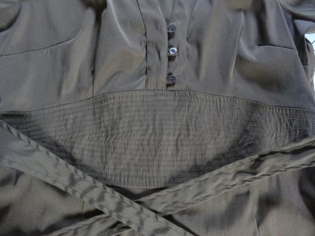 Charlotte Russe Button Down Shirt Chocolate