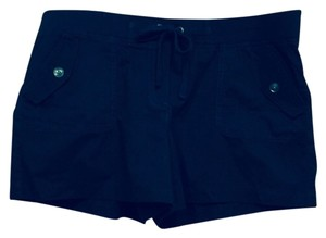 Ann Taylor LOFT Mini/Short Shorts Navy Blue