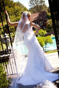 Liz Fields 433 Lo-ve-la By Wedding Dress
