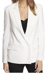 Express Double Breasted Soft Ivory Blazer